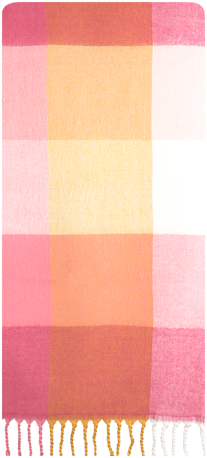 Roze NOTRE-V Sjaal COLETTE  - large