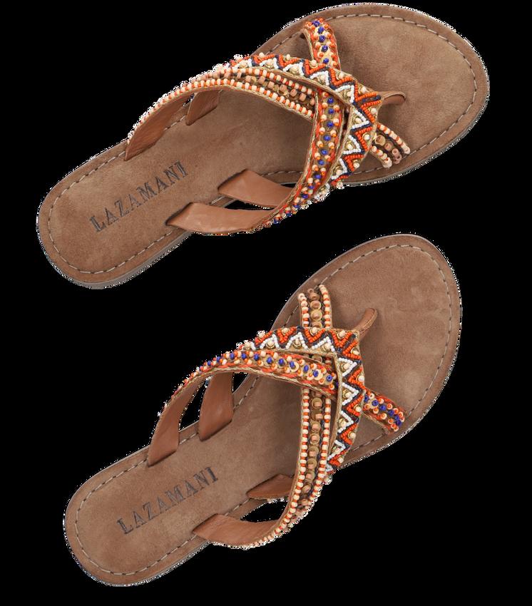 Bruine LAZAMANI Slippers 75.526 - larger
