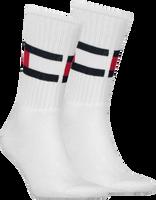 Witte TOMMY HILFIGER Sokken TH FLAG - medium