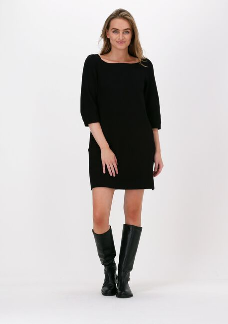 Zwarte VANILIA Mini jurk STRUC SQUARE  - large