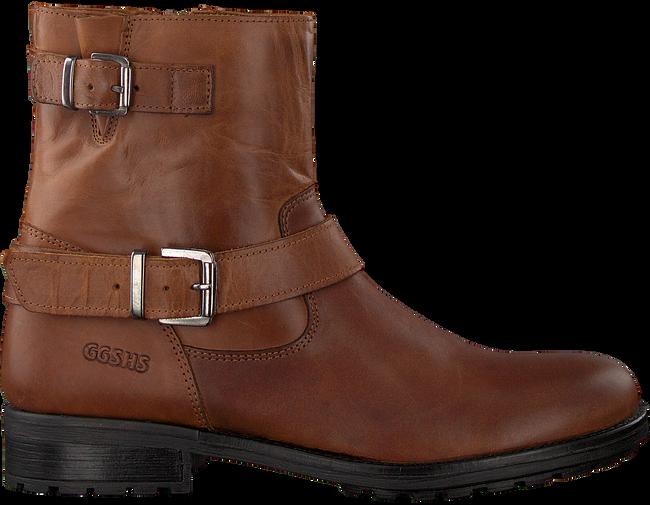 cognac GIGA Lange laarzen 7994 | Omoda