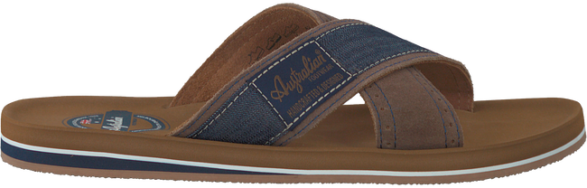 Bruine AUSTRALIAN Slippers CATWYCK AT SEA  - large