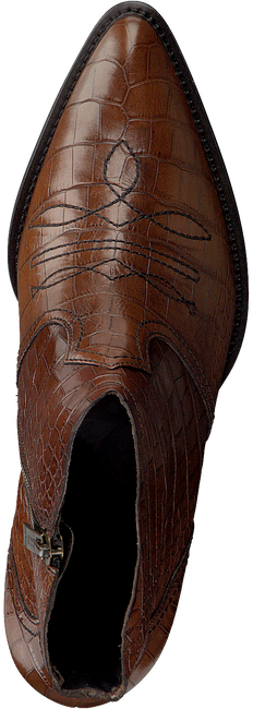 Cognac PAUL GREEN Enkellaarzen 9666  - large