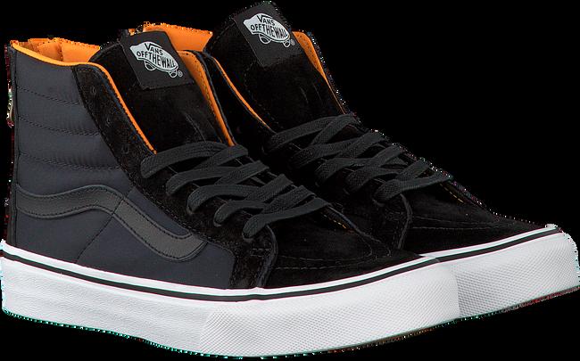Zwarte VANS Sneakers SK8-HI SLIM ZIP  - large