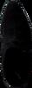 Zwarte LOLA CRUZ Enkellaarsjes 032T30BK-I18 - small