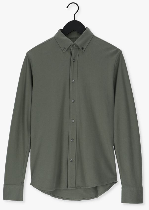 Donkergroene TIGER OF SWEDEN Casual overhemd VENNALD - larger