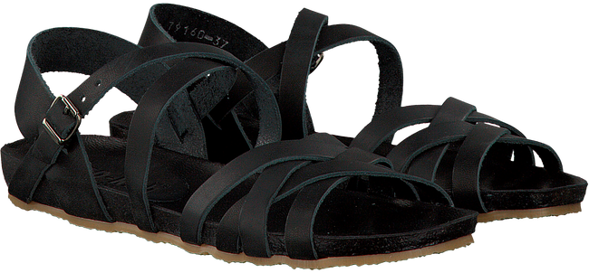 Zwarte RED-RAG Sandalen 79160 - large