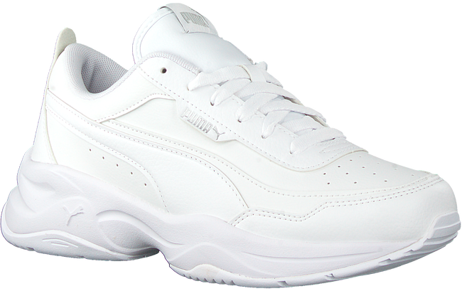 Witte PUMA Lage sneakers CILIA  - large