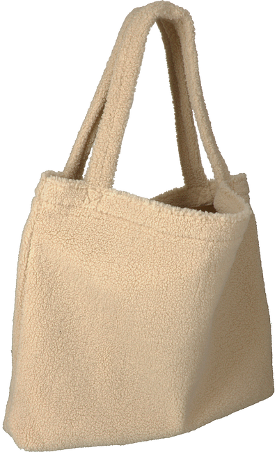 Beige STUDIO NOOS Shopper CHUNKY TEDDY MOM-BAG  - large