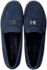 Blauwe TOMMY HILFIGER Mocassins TH HARDWARE MOCASSIN  - small