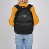 Zwarte ORIGINAL PENGUIN Rugtas CHATHAM STRIPE BACKPACK - small
