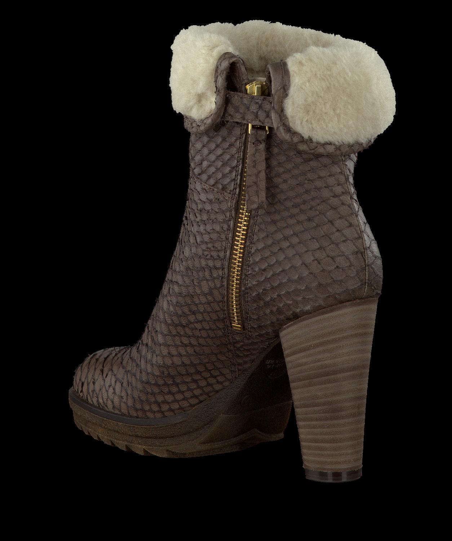Bruine FRED DE LA BRETONIERE Lange laarzen 113081 | Omoda