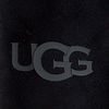 Zwarte UGG Handschoenen SHEEPSKIN LOGO MITTEN  - small