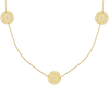 Gouden JEWELLERY BY SOPHIE Ketting NECKLACE LITTLE ROUNDS - small