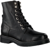 Zwarte NIKKIE Veterboots BRANDED LACE BOOTS - small