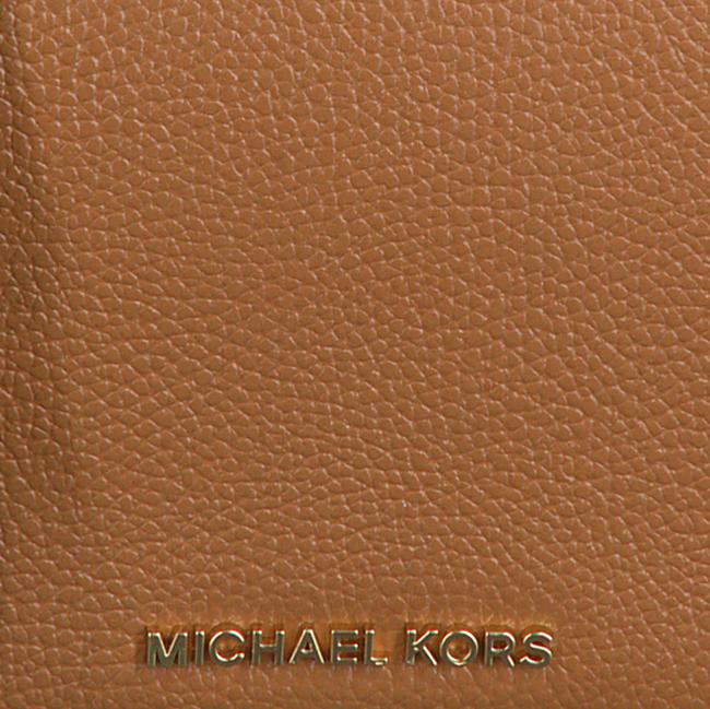 Cognac MICHAEL KORS Schoudertas SM FULL FLAP XBODY  - large