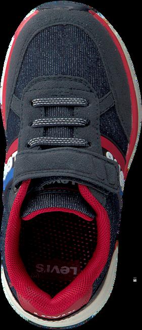 Blauwe LEVI'S Lage sneakers OREGON II DNM VEL  - large