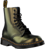 Gouden DR MARTENS Veterboots 1460 PASCAL  - small