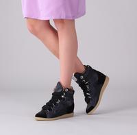 Zwarte LEMARÉ Hoge sneaker 2553  - medium