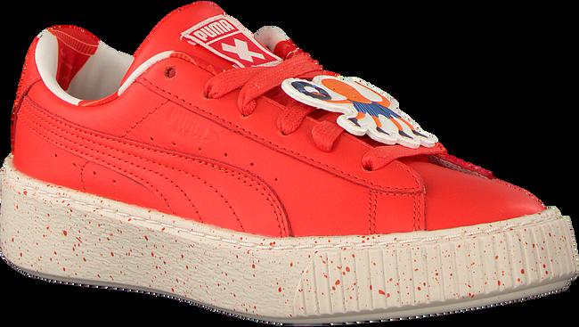 Rode PUMA Sneakers PUMA X TC PLATFORM SPECKLE JR - large