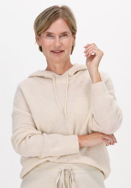 Gebroken wit MSCH COPENHAGEN Sweater KEIA ALPACA HOOD PULLOVER - large