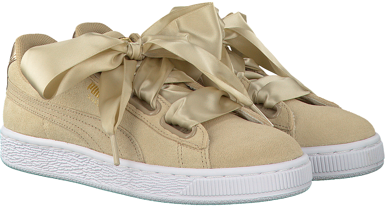 6ad4edb60dd Beige PUMA Sneakers SUEDE HEART SATIN - large. Next