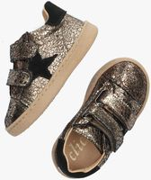Gouden CLIC! Lage sneakers CL-20303  - medium