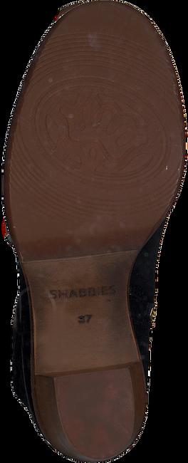 Zwarte SHABBIES Enkellaarsjes 183020153 SHS0427  - large