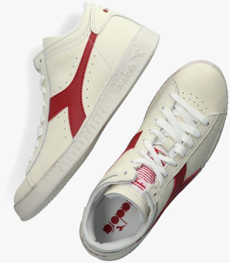 Witte DIADORA Hoge sneaker GAME L WAXED ROW CUT  - larger