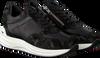 Zwarte RED-RAG Sneakers 76662  - small