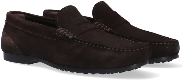Bruine SEBAGO Loafer BYRON SUEDE - large