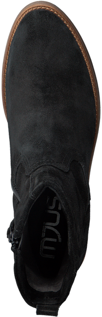 Zwarte MJUS Enkellaarsjes 204217  - large