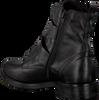 Zwarte OMODA Biker boots 166K SOLE KIRA - small
