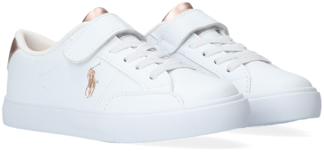 Witte POLO RALPH LAUREN Lage sneakers THERON IV PS  - large
