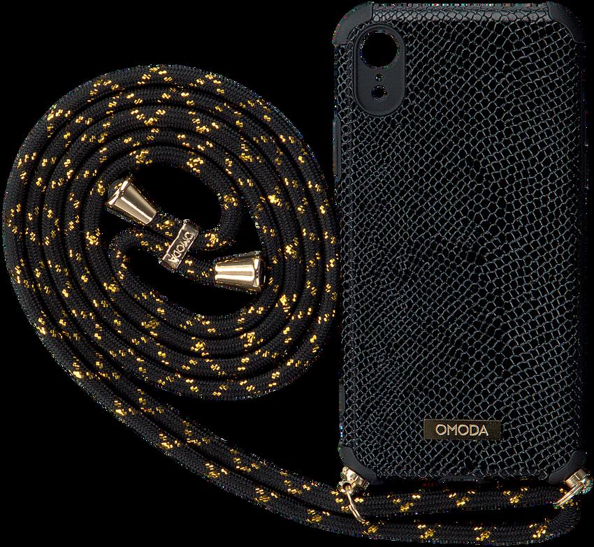 Zwarte OMODA Telefoonkoord XR IPHONE KOORD - larger