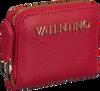 Rode VALENTINO HANDBAGS Portemonnee DIVINA COIN PURSE - small