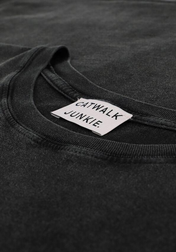 Grijze CATWALK JUNKIE T-shirt TS FREE - larger