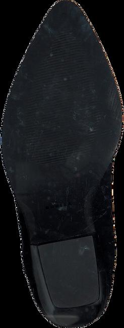 Zwarte NUBIKK Enkellaarsjes ROMEE MOC  - large