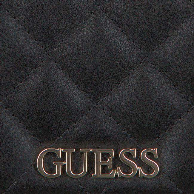 Zwarte GUESS Schoudertas ILLY SMALL TRIFOLD  - large