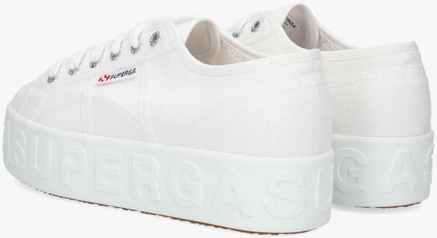 Witte SUPERGA Lage sneakers 2790 3D LETTERING  - larger