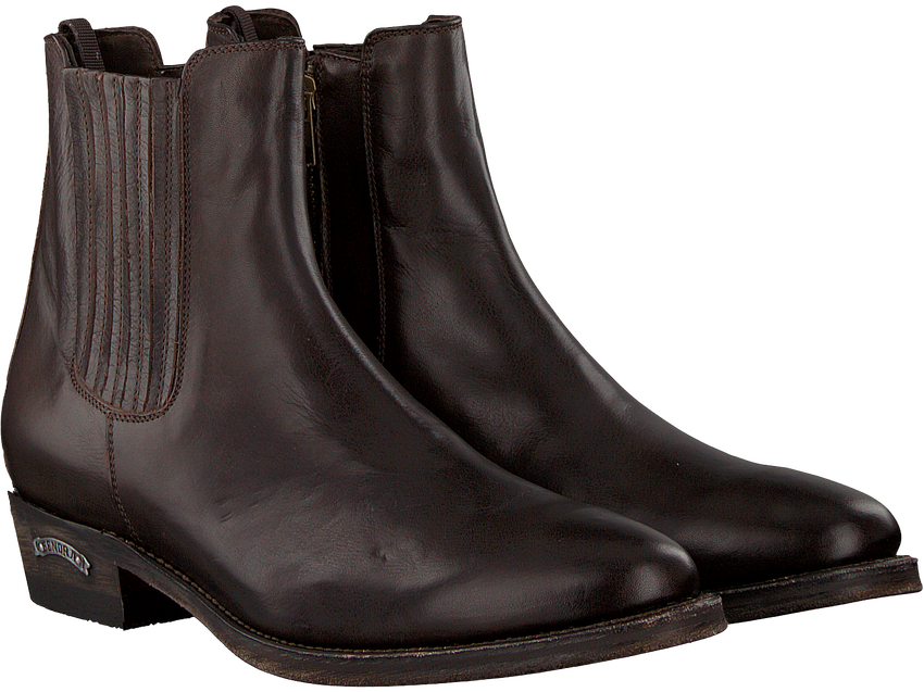 Bruine SENDRA Chelsea boots 12102 - larger