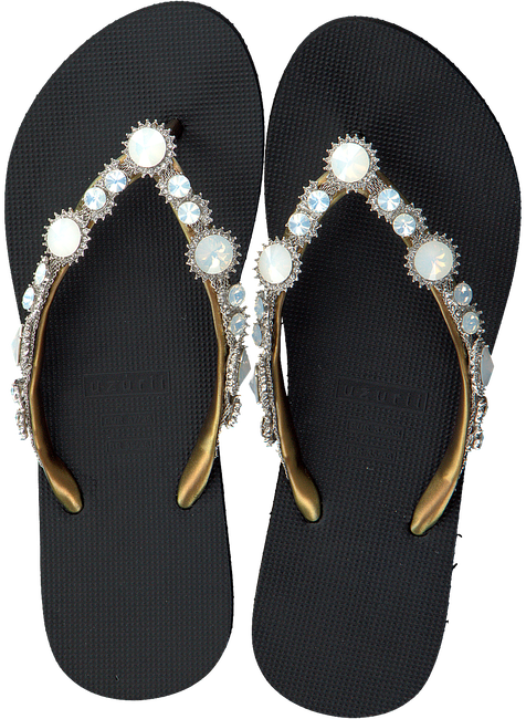 Zwarte UZURII Slippers PEARL MARILYN - large