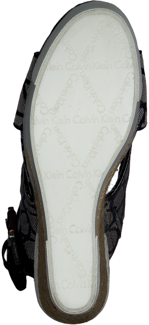 Zwarte CALVIN KLEIN Sandalen ELIANE  - large