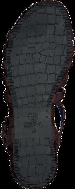 Bruine FRED DE LA BRETONIERE Sandalen 170010028 - large