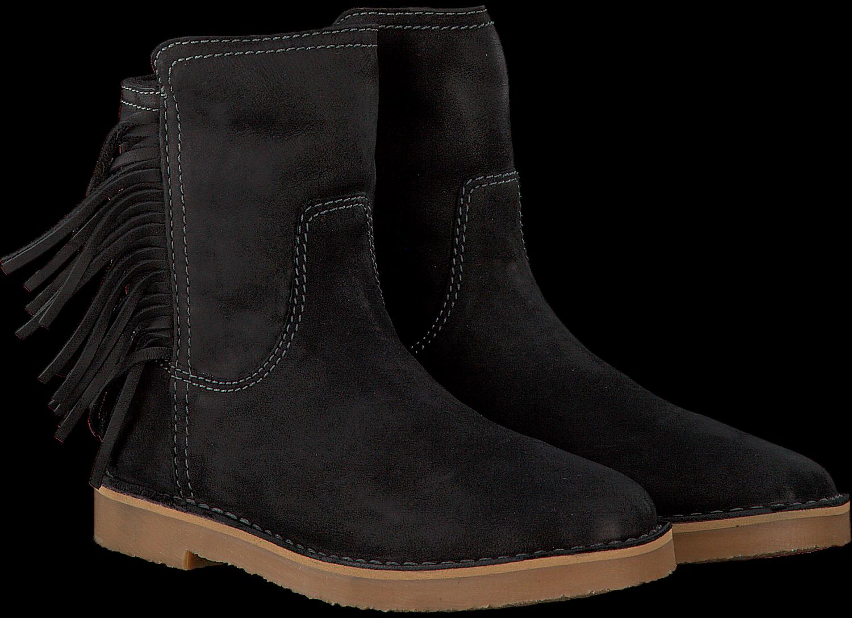 Zwarte GIGA Lange laarzen 8671