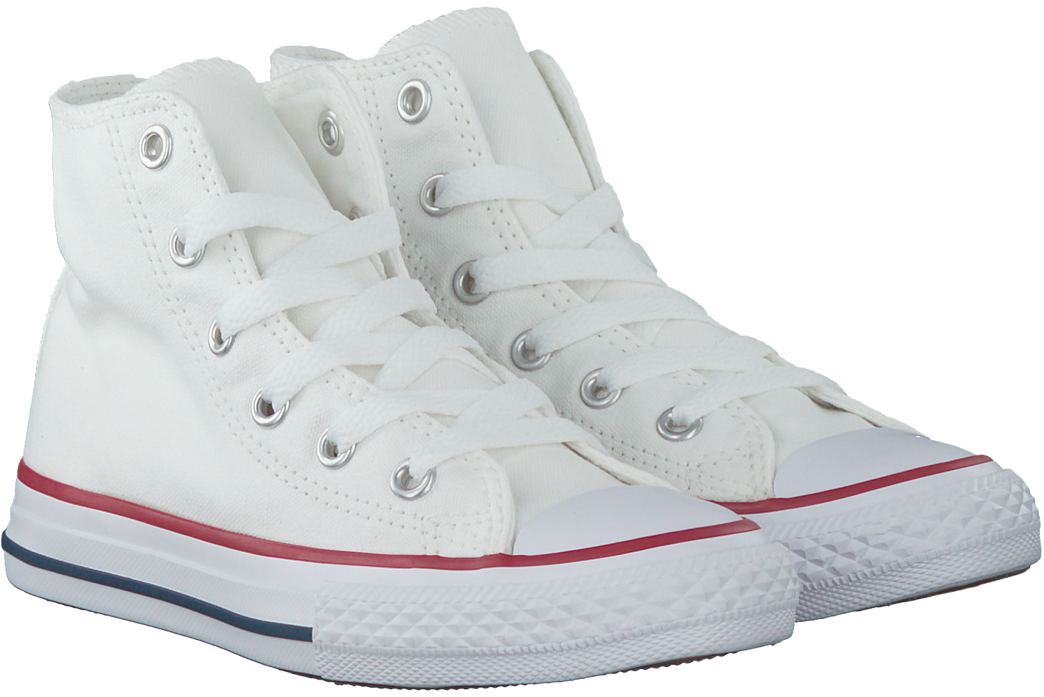 8f0df018772 Witte CONVERSE Sneakers CHUCK TAYLOR ALL STAR HI - Omoda.nl