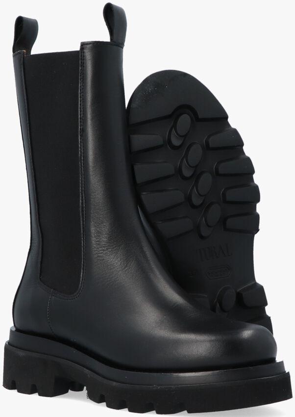 Zwarte TORAL Chelsea boots TL-12577  - larger
