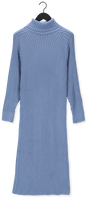Blauwe Y.A.S. Maxi jurk YASMAVI LS KNIT ROLL-NECK