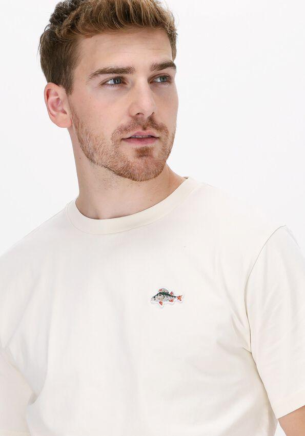 Gebroken wit FORÉT T-shirt FISH T-SHIRT - larger