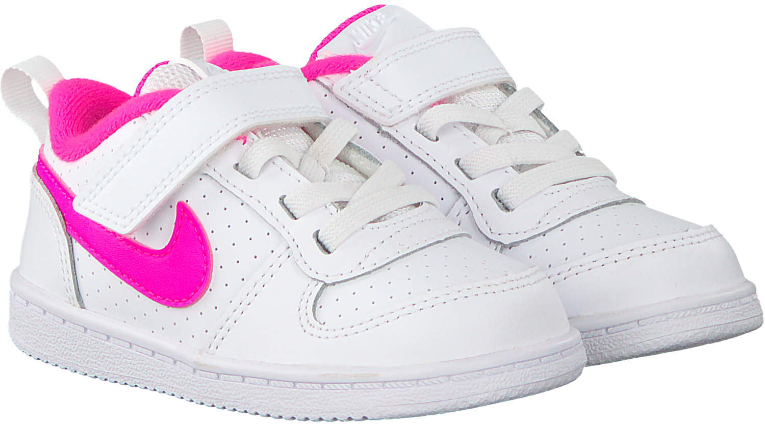Witte NIKE Sneakers COURT BOROUGH LOW (KIDS) | Omoda